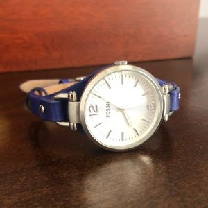 Women's Fossil Leather Watch